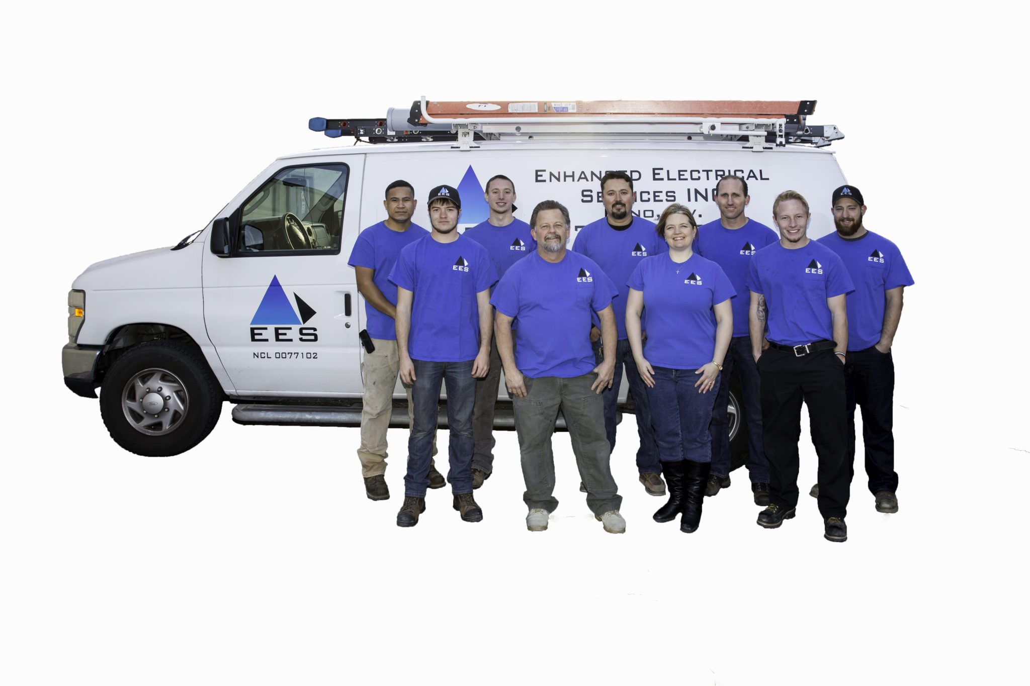 Enhanced Electrical Services Team Portrait