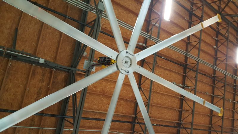 Enhanced Electrical Services Installed Big Ass Fan